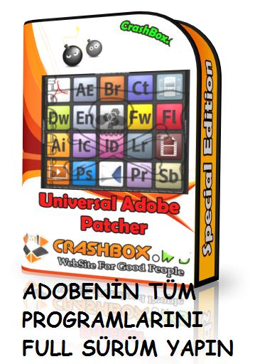 Adobe Patcher 2014 - Adobe Programları Lisanslama Programı