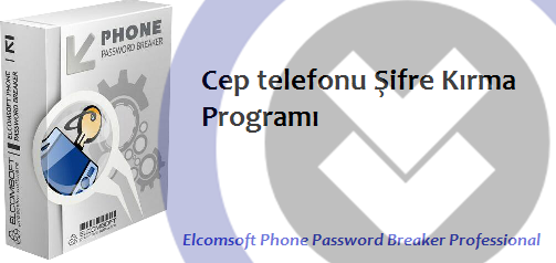 Elcomsoft Phone Password Breaker Professional Full