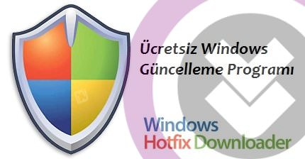 Windows Hotfix Downloader 7.4 indir