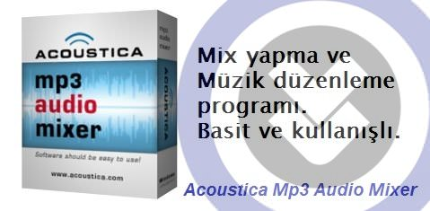 Acoustica Mp3 Audio Mixer Full indir