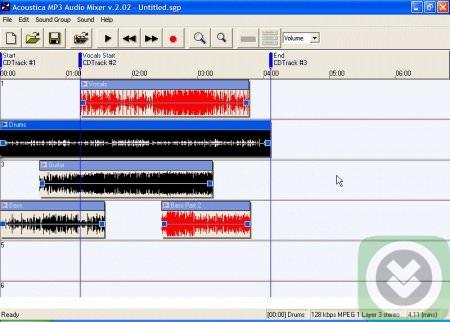 Acoustica Mp3 Audio Mixer Full indir
