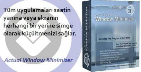 Actual Window Minimizer v8.9