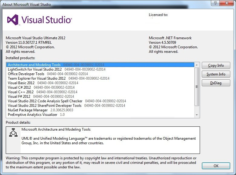 Visual Studio Ultimate 2012 Full indir