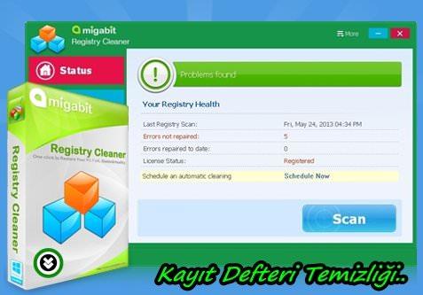 Amigabit Registry Cleaner Full indir