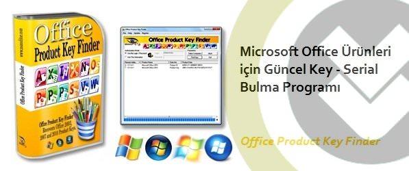 Office Ürüm Anahtarı Bulma Programı indir
