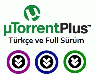 µTorrent Plus 3.4 Türkçe Full indir