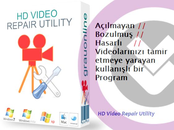 HD Video Repair Utility Full indir