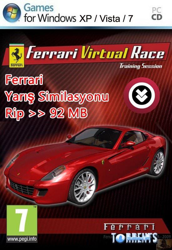 Ferrari Virtual Race Full Rip indir