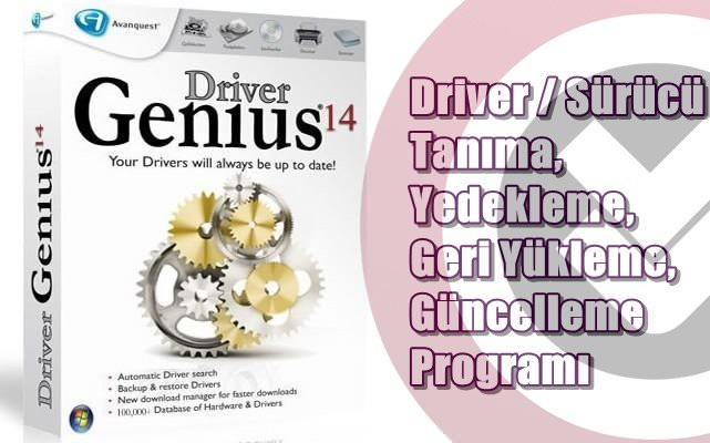 Driver Genius Professional 14 Katılımsız indir