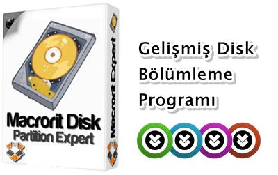 Macrorit Disk Partition Expert 3.4 Katılımsız indir