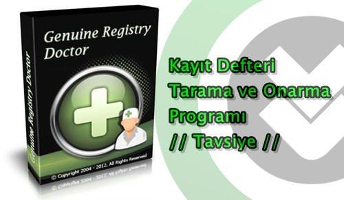 Genuine Registry Doctor 2.6 Full indir