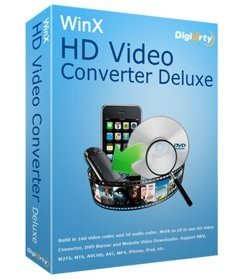WinX HD Video Converter Deluxe v5.16.0.332