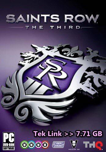 Saints Row The Third Tek Link indir