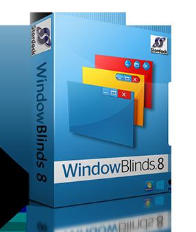Stardock WindowBlinds 8.4 Full indir