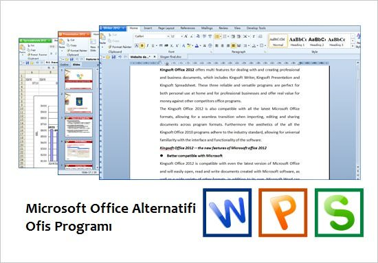 Kingsoft Office Suite Professional 2013 Full indir