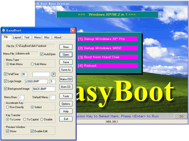 EZB Systems EasyBoot 6.5 Türkçe Full indir