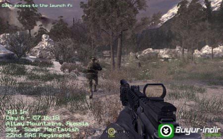 Call of Duty 4: Modern Warfare Tek Link indir