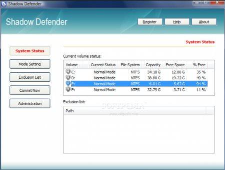 Shadow Defender v1.4.0.635 Türkçe