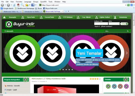 Slim Browser 7.0 Katılımsız indir