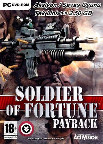 Soldier Of Fortune Payback Tek Link indir