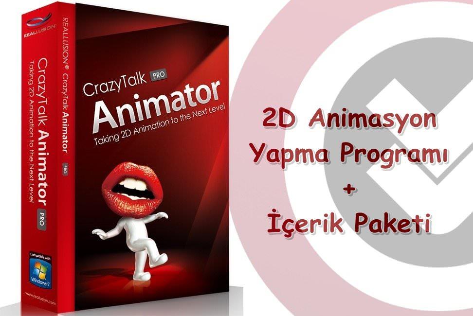 Crazytalk Animator 2 + Bonus Pack Full indir