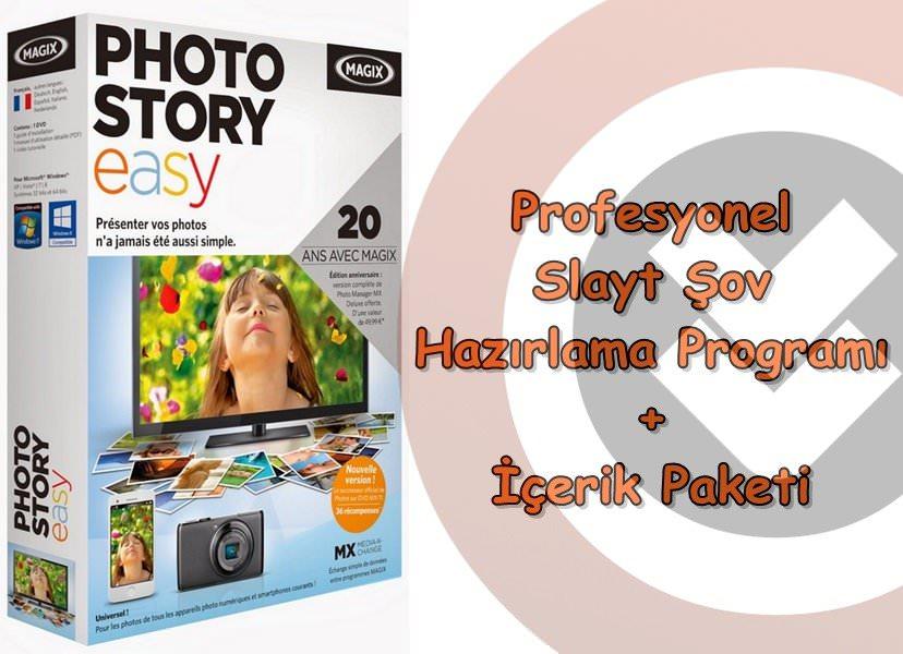MAGIX Photostory Easy + içerik Paketi