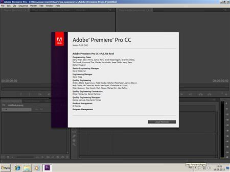 Adobe Premiere Pro CC 7.2 Türkçe