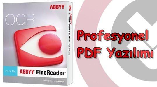 ABBYY FineReader Professional 12 Türkçe Katılımsız