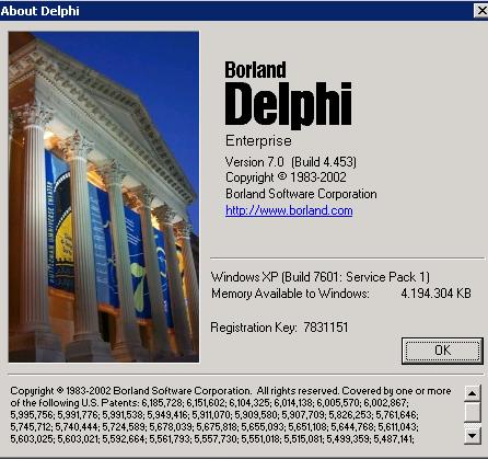 Delphi 7 Enterprise Торрент