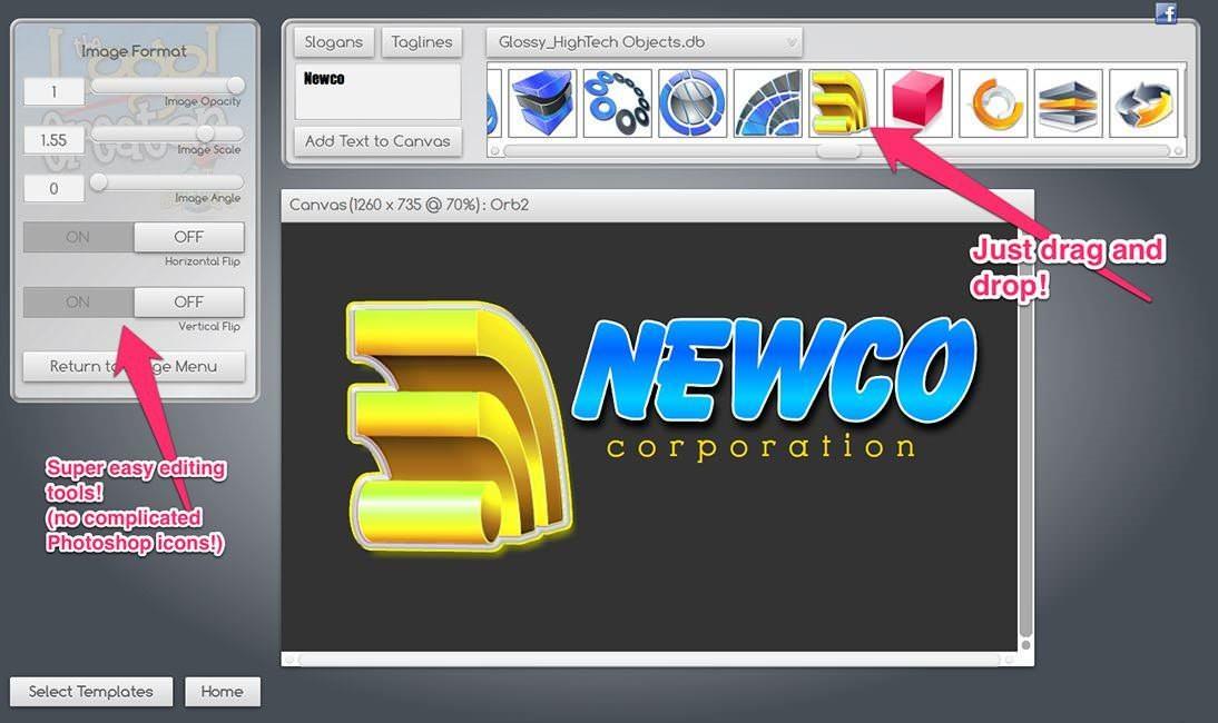 logo creator v4 1: