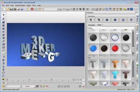Aurora 3D Animation Maker 13 Full indir