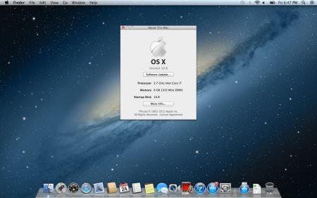 iAtkos ML2 OS X Mountain Lion 10.8.2 indir