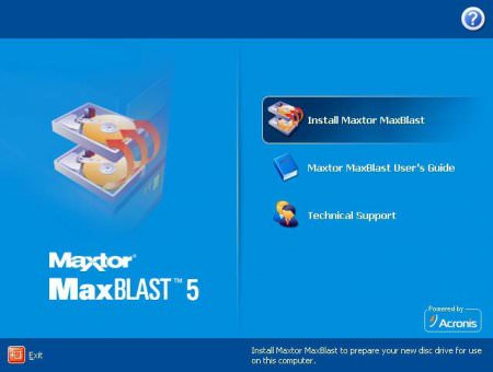 MaxBlast 5 ISO HDD Low Level Format Full indir