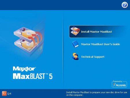MaxBlast 5 ISO HDD Low Level Format Full indir