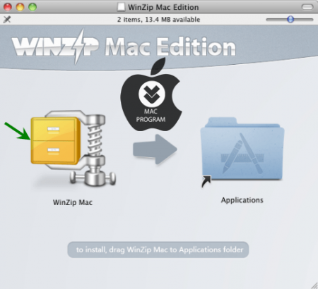 Mac WinZip v2.0 Full indir