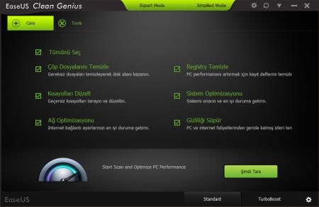 EaseUS CleanGenius Pro 4 Türkçe Katılımsız