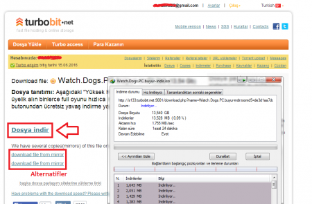 Watch Dogs PC Full Tek Link indir