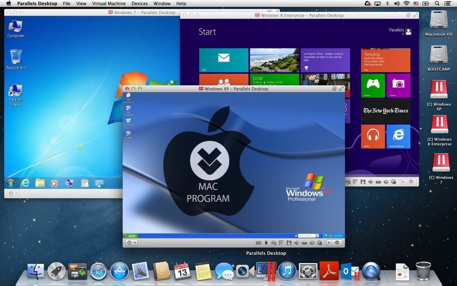 Mac Parallels Desktop Business Edition v13.3.0