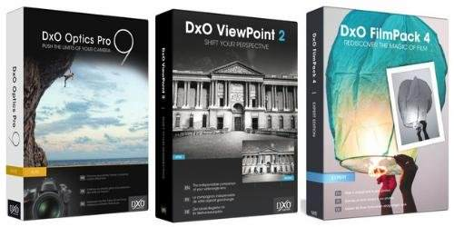DxO Imaging Software Suite 2014 Program Paketi