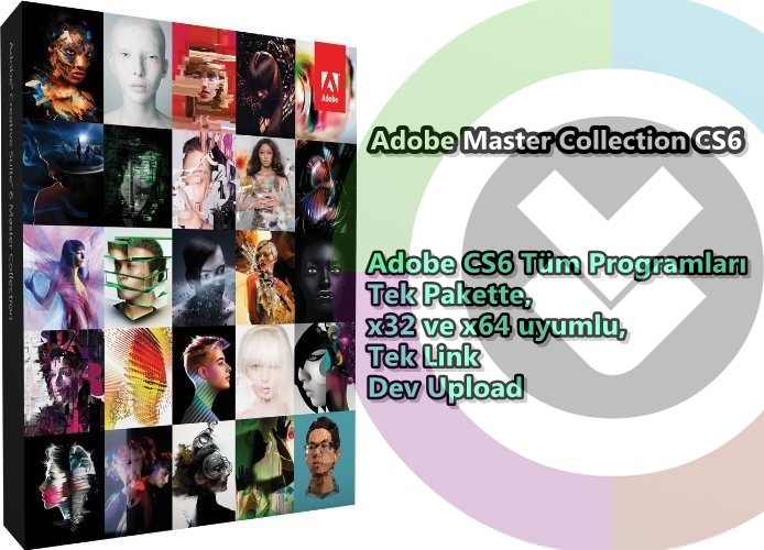 Adobe Master Collection (x32 - x64) Tek Link