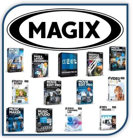 MAGIX Ultimate Multimedia Software Suite 2014