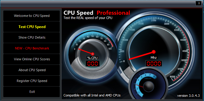CPU Speed Professional 3.0.4.5