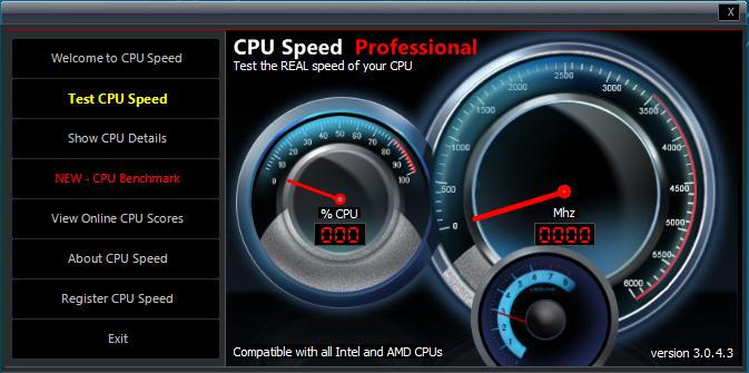 CPU Speed Professional 3.0.4.5