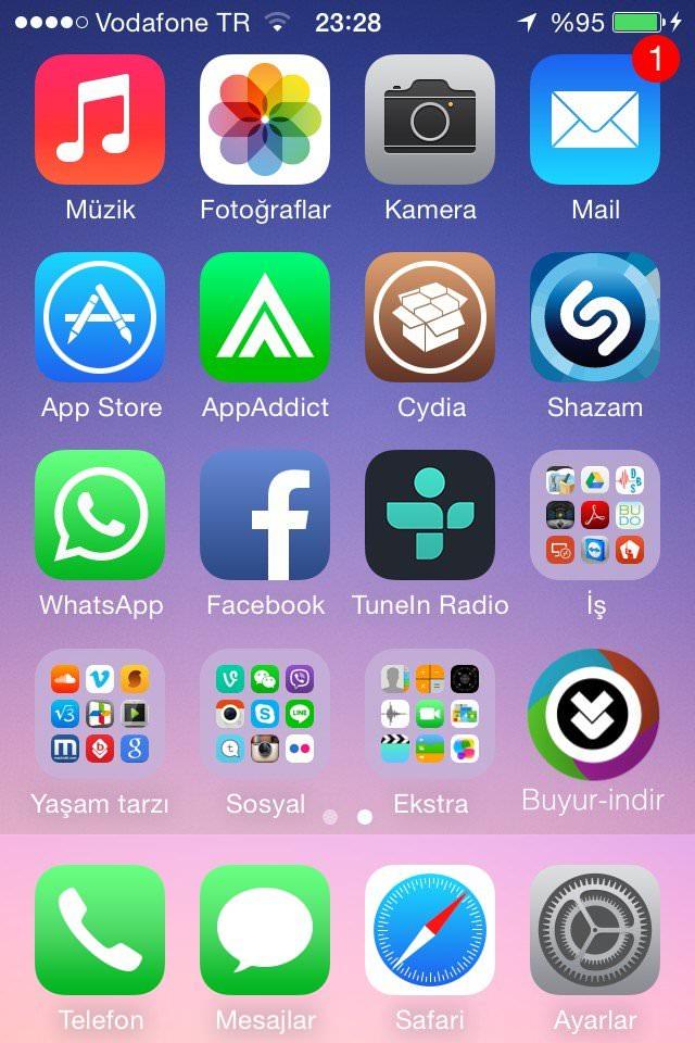 iOS 7.1 / 7.1.1 Untethered Jailbreak Çıktı