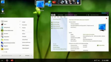Molk Skin Pack v1.0 Full - Windows Tema Paketi