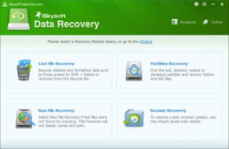 iSkysoft Data Recovery Full indir