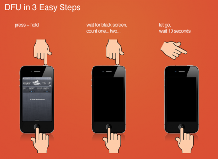 iPhone Yazılım Güncelleme DFU Moda Geçme Resimli Anlatım