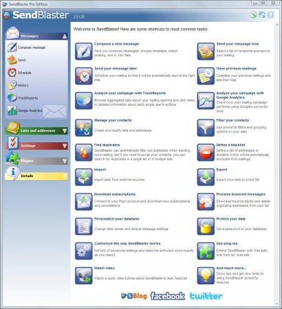 SendBlaster 3.1 Pro Full indir