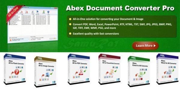 Abex Document Converter Pro AIO Full indir