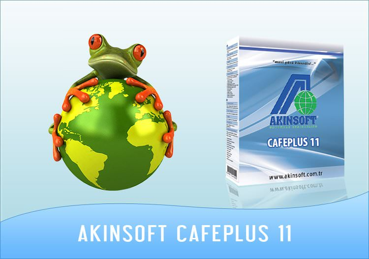 Akınsoft Cafe Plus 11 Full (Server - Client)
